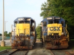Two RARE CSX Locomotives; Yes, this is from 2009!